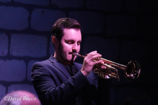 The Reno Jazz Orchestra's newest trumpeter, Julien Knowles Photoby David Rocco