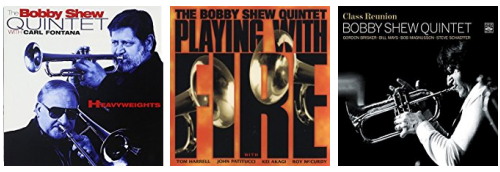 Bobby Shew CD Covers