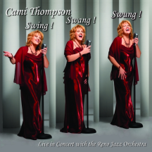 Cami Thompson: Swing! Swang! Swung! album cover